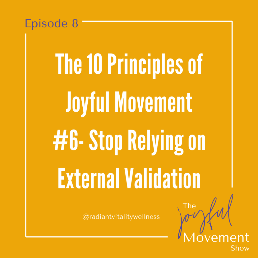 EP 8 - Stop Relying on External Validation